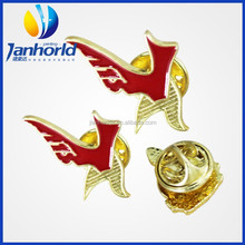 Shield Crown Logo Metal Enamel Badge Brooch Pin