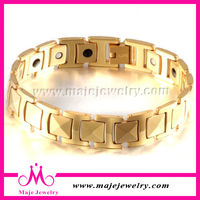 2015 popular Male tungsten bio energy bracelet