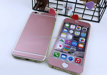 Wholesale Rose gold Matt silk printing Tempered Glass Screen Protector For iPhone 5/5s 6/6 plus