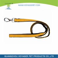 Utility Medium 5/8-Inch Reflective Snake Dog Collar leash and harness