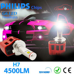 Qeedon 2015 newest 45Watt 3600lumens 9007 bulb auto headlight 45W car led head light bulbs h11 motorcycle