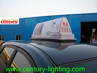 taxi roof top signs leds