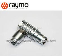 2 pin circular connectors Elbow 90 plug FHG 0B/1B/2B/3B male/female type