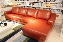 space saving furniture sofa leather living room sofa lounge suites J870
