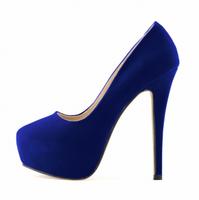 PU Lady shoes High Heel Dress Pumps Platform sandals