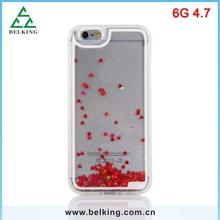 2015 Hybrid Material TPU +PC Case For iPhone 6 Heart Plastic TPU Case