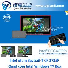 Vplus POCKET P1 z3735f intel atom mini desktop pc mini pc window 8