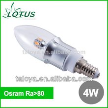 OSRAM tulips dimmable e14 led candle light manufacturer