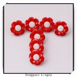 Fashion designer clothing buttons silicone rubber