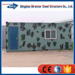 Steel prefabricated container houses