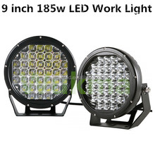 """Cheap High power above 12000LM 185W 9 inch led driving lights for 4X4 9"""" led work light"""