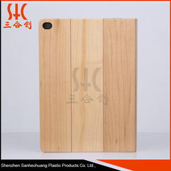 China Alibaba Wholesale bamboo wood unbreakable protective case for ipad