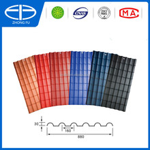 Resin PVC Roofing lightweight roofing materials