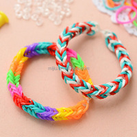Jewelry Making Supplies Wholesale China Rubber Band Weaving Bracelet