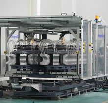 Tubo de plástico para línea de producción- HDPDE tubo de gas/agua, Línea de producción