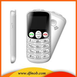 Ultra Low Cost 1.8inch MTK6260M Big Font Big Keyboard Unlocked Wap Gprs Gsm Quad Band FM SOS Old People Mobile Phone T08