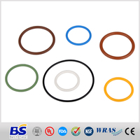 High quality and low price oem green rubber o ings