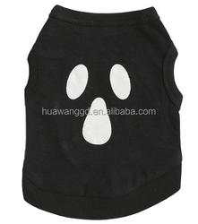 pets supplies cute black dog tank top summer shirt
