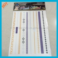Wenzhou Colorful Flash Tattoo, Gold Tattoo, Tattoo Supply