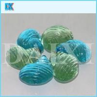 Landscape colored glass ornament