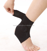 High Quality Sports Training Entertainment Safety Adjustable Neoprene Tourmaline Magnetic Ankle Support/Brace/Belt