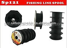 European taste all kinds of plastic empty wire spools for fishing tackle