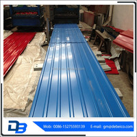 900 prepainted Corrugated Roofing Sheet
