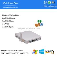 Well Armor Pack well-radiating mini PC PA10 i3 4010U