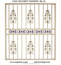 New window grill design for home made in china HL-26