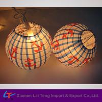 Anchor design indoor holiday light lantern
