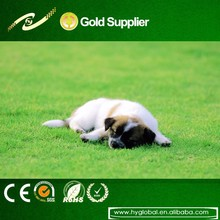 2015 hotsell 6mm artificial grass turf for decoration/courtyard/pets dog artificial grass safe and soft