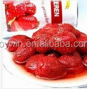 425ml High Quality Canned Strawberry,Canned Food