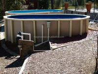 2015 hot sale galvanized steel swimming pool