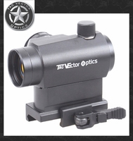 Vector Optics Tactical 1x22 Shooting Red Dot Sight Scope with QD Weaver Mount Aim T-1 H-1 Style