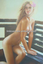 modern art painting wall paint nude ladys oil painting