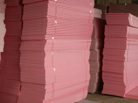 shunan Heat Insulation Materials /Nice Pink eps wall panel Extruded polystyrene insulation board(XPS)
