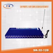 Big promotion !!! 32 Channel 128 SIM ,SK 32-128 GSM GATEWAY
