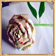 Mini paper crafts rose flowers