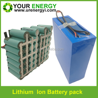 lithium ion battery 12v 20Ah 30Ah 40Ah for LED light and CCTV camera with light weight 18650 26650 Rechargeable battery pack