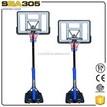 basketball set with solid steel basketball rim