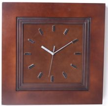 High quality hot sell simple style high quality decoration wooden flip wall clock