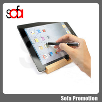Quick and convenient touch screen stylus ball pen for tablet