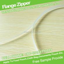13mm EVA Press to Close Reclosable Flange Zipper