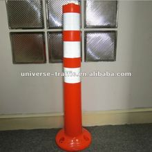 Security Road Flexible PVC Warning Post