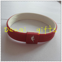 Factory direct sale fitness sports silicone bracelet for Beautiful design