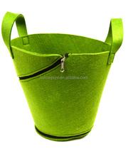 Eco-friendly promotional wool felt bag ,special design felt bag