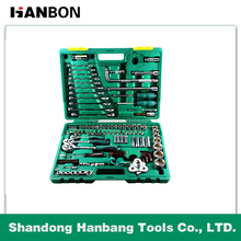 "123Pcs 1/4""Dr. 3/8""Dr. 1/2Dr. Professional Socket Wrench Set"