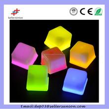 Elegantparty decorations , glow plastic dice ice cubes
