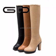 Good quality wholesale and the elegant high heel ladies long boots women