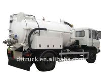 10000 liters vacuum sewage suction truck